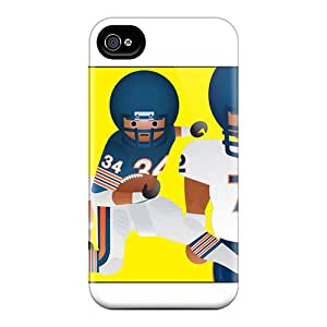 High Quality Mobile Covers For Iphone 6plus With Allow Personal Design Realistic Chicago Bears Image MansourMurray