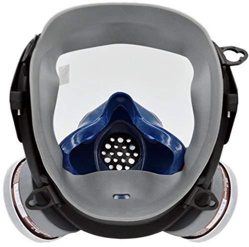 SCK Organic Vapor Respirator, Full Face Paint Respirator Gas Chemical Dustproof Pesticides Mask,Respiratory Protection