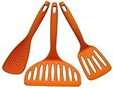 Inoue Chamber of mini kitchen tool set of 3 points of A type Orange
