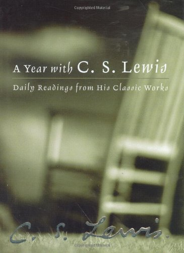 A Year with C. S. Lewis: Daily Readings from His Classic Works cover