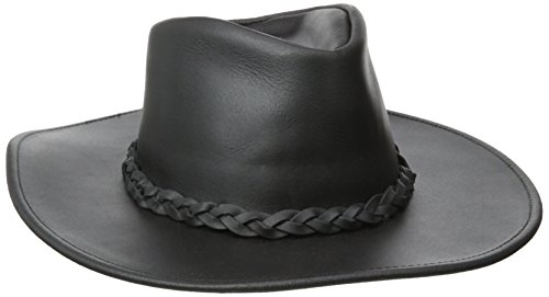 (Henschel Australian Classic Hat, Black, Medium)
