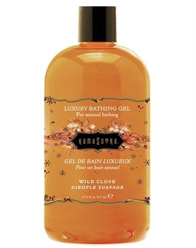 Kama Sutra Luxury Bathing Gel, Wild Clove, 17.5 Fluid (Kama Sutra Luxury Bath Gel)