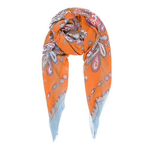 Scarf for Women Lightweight Paisley Fashion for Spring Winter Scarves Shawl Wrap - Long Scarf Winter Fashion