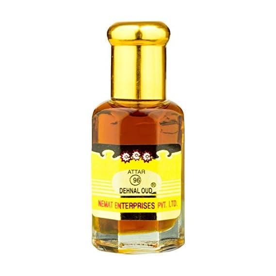 "Nemat Enterprises ""Dehn-Al-Oud"" Branded Quality Non-Alcohlic Concentrated Perfume Oil, 10 ml Attar"