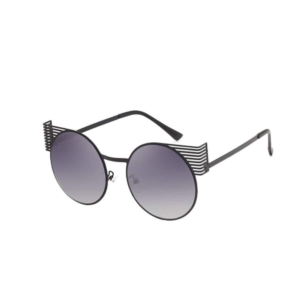 Vintage gafas de sol,gafas de sol mujer 2019 círculo ...