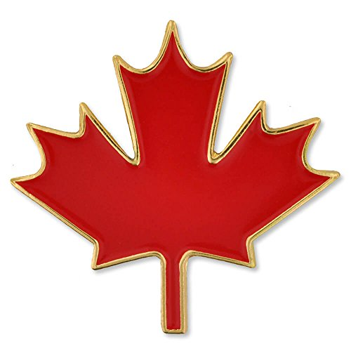 PinMart Canadian Red Maple Leaf Canada Enamel Lapel Pin 1