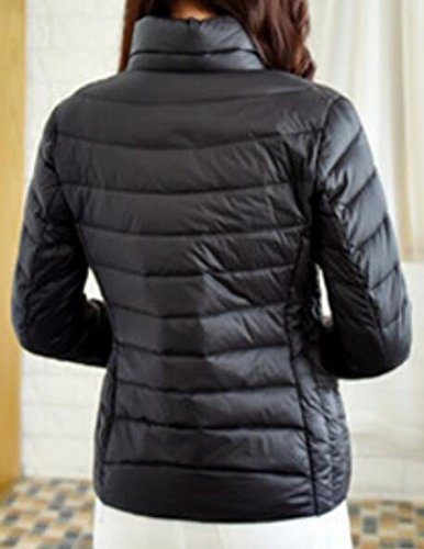 Down Women's UK today Down Packable Coat Classic Jacket Black Quilted Puffer S87FqRwg