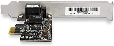 ST2GPEX RTL8125 PCI Express LAN Card 2.5Gbps 2.5GBASE-T PCIe Network Card x4 PCIe StarTech.com 1 Port PCIe Network Card