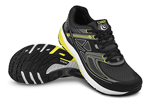 Topo Athletic Ultrafly Running Shoe - Men's Black/Yellow 11