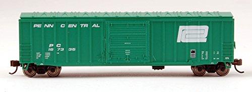 Bachmann Industries Penn Central ACF Outside Braced Sliding Door Box Car (N Scale), 50'6