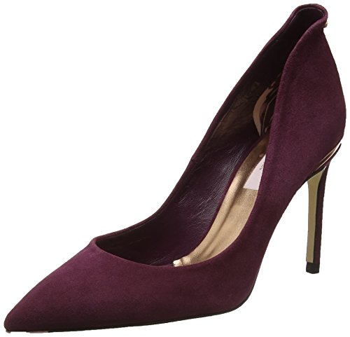 Closed Women's Burgundy Toe Ted Savio Baker Heels Red xvTwzAzR