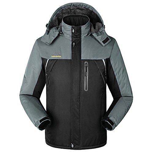 Mountain Conqueror Jacket Mens Outdoor Camping Coat Thick Warm Waterproof Windbreaker