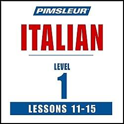 Italian Level 1 Lessons 11-15