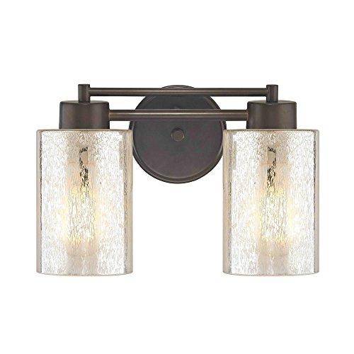 Mercury Glass Bathroom Light Bronze