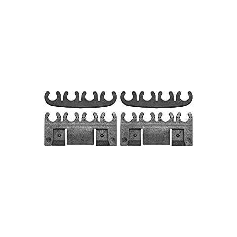 MACs Auto Parts 49-28496 Spark Plug Wire Separator Set - 4 Pieces - V8 - Ford (Ignition Wire Separator)