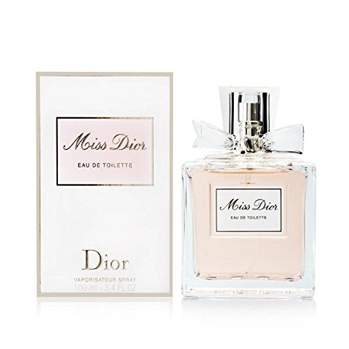 Miss Dior by Christian Dior for Women 3.4 Ounce EDT Spray -