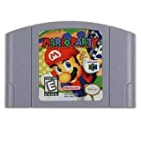 New For Nintendo 64 N64 Game Card Mario Party Video