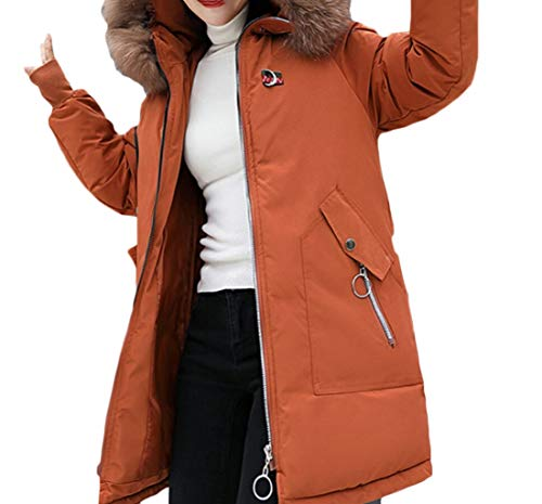 Jacket Overcoat EKU 4 Puffer Coats Winter Long Hood Down Women's Parka wRRSt
