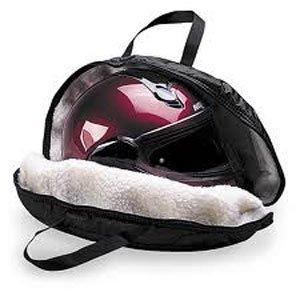 dowco negro casco bolsa para Harley-Davidson