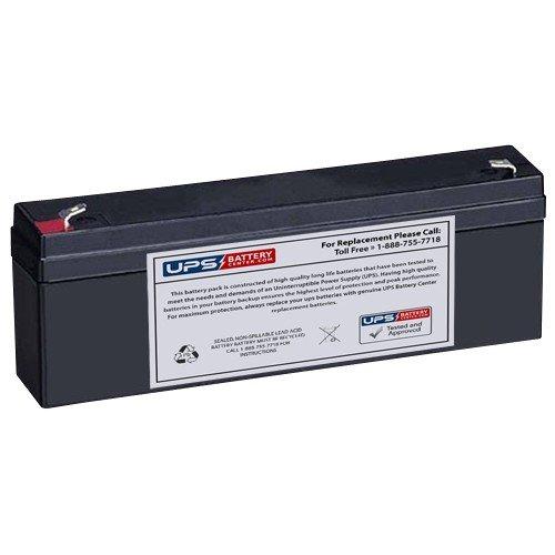12V 2.3Ah F1 - Compatible Battery for Yuasa NP2.3-12 by UPSBatteryCenter
