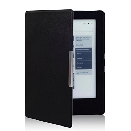 Elaco For KOBO AURA H2O eReader+Touch Pen Magnetic Auto Sleep Leather Cover Case at Electronic-Readers.com