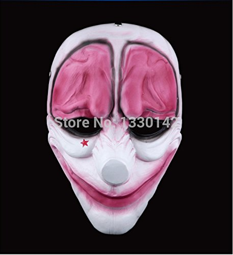 2015 - Halloween mask Mask Hoxton Heist Payday 2 Game Joker Costume Props Collection Party Gift