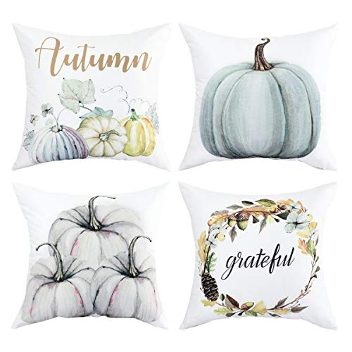Autumn Decorations Pumpkin Throw Pillow Cover Cushion for sale  Delivered anywhere in USA