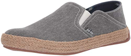 Ben Sherman Men's Prill Heel Slip Sneaker, Grey Canvas, 10 M US