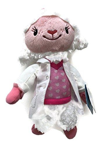 Disney Doc McStuffins Toy Hospital Lambie Plush Bean with Lab Coat 9-inch -