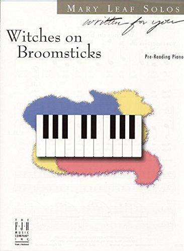 Witches on Broomsticks Pre-Reading Halloween Sheet Music