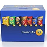 Frito Lay Classic Mix Variety Chips, 54 Bags, Pack of 6
