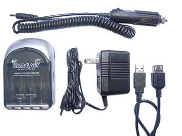 Amazon.com: UltraLast AA AAA NiMH cargador de batería ...