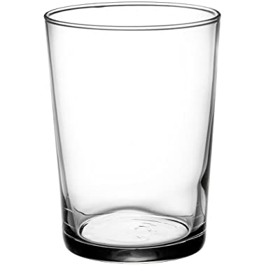 Bormioli Rocco Bodega Tumbler Maxi Glasses, 17oz/50.5 cl -Set of 12