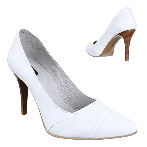 Women's Ital Design White Pumps White H7p40wq