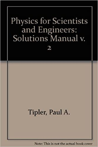 Physics for scientists and engineers solutions manual v 2 paul a physics for scientists and engineers solutions manual v 2 paul a tipler 9780879014964 amazon books fandeluxe Gallery