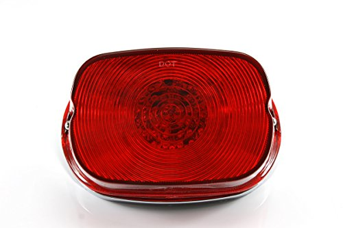 NEVERLAND LED Tail Brake Light for Harley Davidson XL Touring models FLHRC FLHTC FLHTCU
