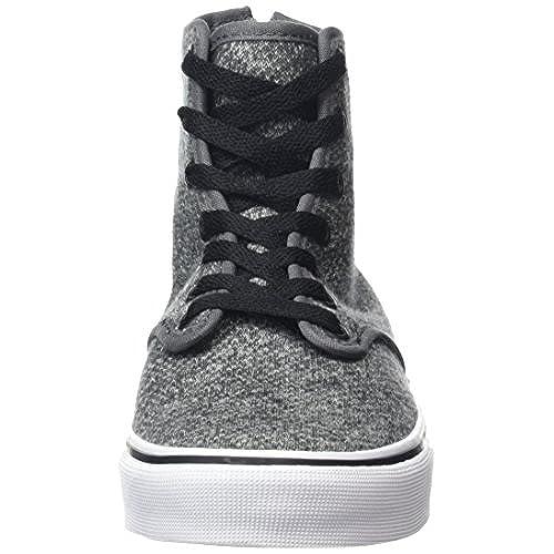4c655281ca good Vans Camden Hi Zip Women Round Toe Canvas Black Skate Shoe ...