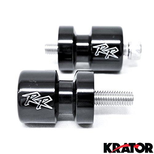 Krator HONDA CBR 600 954 1000 RR CBR SWINGARM SPOOLS (Honda Motorcycles Cbr)