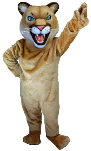 Cougar or Puma Mascot Costume by MaskUS Costumes