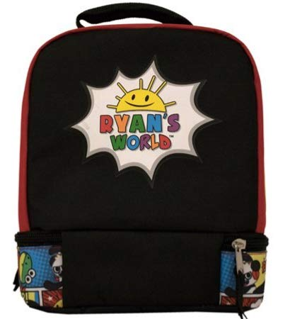 Ryan's World Dual Compartment Lunch Box Bag