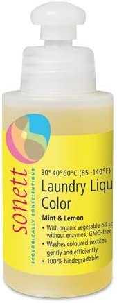 Detergente líquido ropa color Sonett, 120 ml: Amazon.es: Hogar