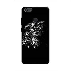 Cover It Up - Lion Profile BW V7 Plus Hard Case