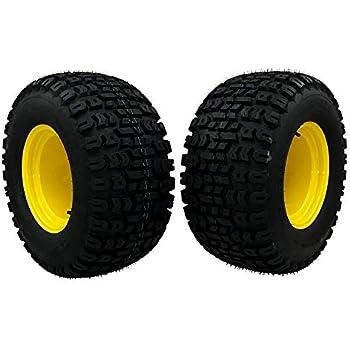 2 Rear Wheel Assemblies 20x10.00-8 fits John Deere Replaces GY20637 GX10364
