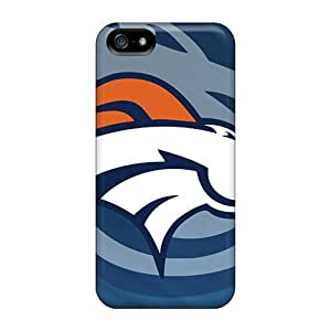 IanJoeyPatricia Iphone 5/5s Shock-Absorbing Hard Phone Case Support Personal Customs HD Denver Broncos Pattern [rhl19984uLyg]