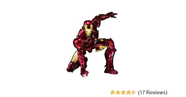 Amazon com: Bandai Tamashii Nations S H  Figuarts Iron Man