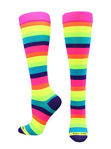 TCK Sports Krazisox Rainbow (Multi-neon, Small)