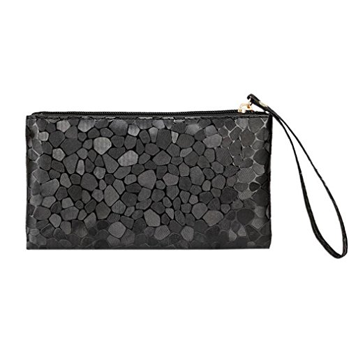 Key Coin Purse Bags Clutch Wallet Coins Change Bag Xinantime Phone Black rIxw8qr1