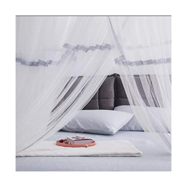 Bulawlly Hanging Letto a baldacchino, Hideaway Tenda Tettoie per Bambini Camere, Letti o culle, Nursery Sheer… 3 spesavip