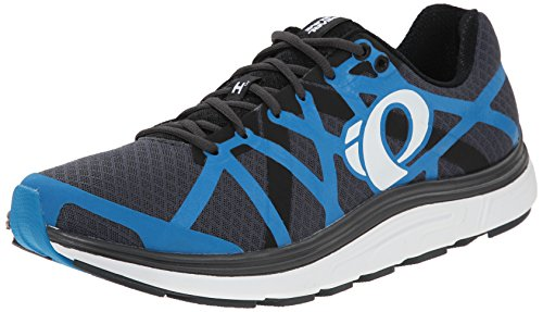Pearl iZUMi Men EM Road H3 v2 Running Shoe Shadow Grey/Blue Methyl