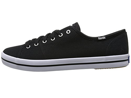 Damen Kickstart Season Canvas Weiß Sneaker White Schwarz Keds dxBFwd